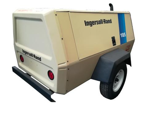 compresor neumático diesel ingersoll rand de 185 pcm