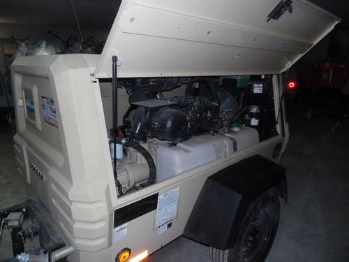 compresor neumático  doosan a diesel 185 psi