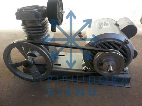 compresor para agua 3/4 hp c/motor c/garantia