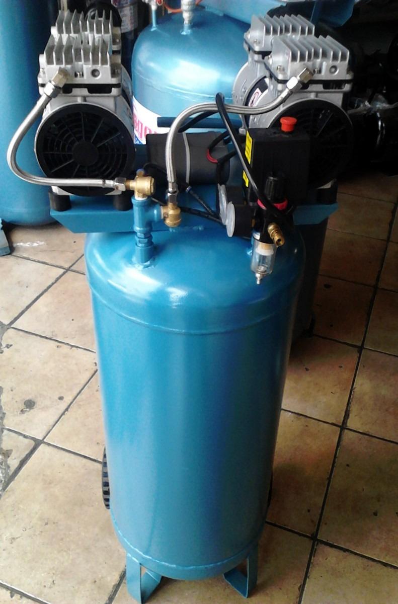 Compresor para aire silencioso libre de aceite 2 hp for Aceite para compresor