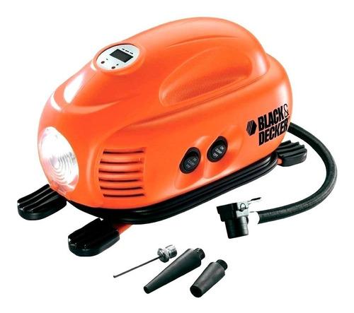 compresor para vehículos 12 voltios black and decker