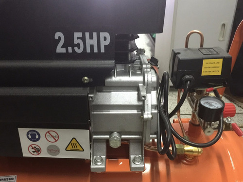 compresor pintor p/ pistola pintar sopletear 2.5 hp - 50 l