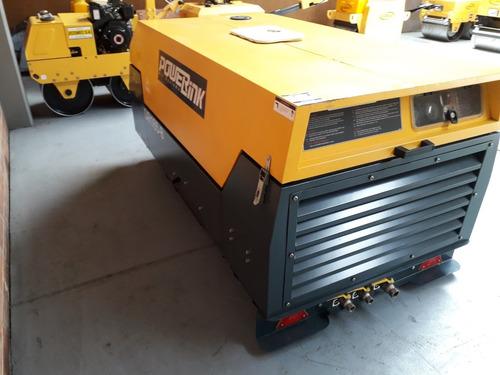 compresor portátil diesel nuevo powerlink 170 cfm