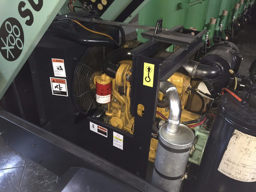 compresor portatil sullair 185pcm para tanque de sandblats