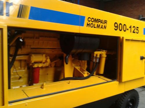 compresor portatil usado 900 cfm compair motor caterpillar