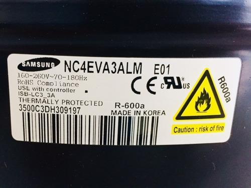 compresor refrigerador samsung modelo nc4eva3alm/e01