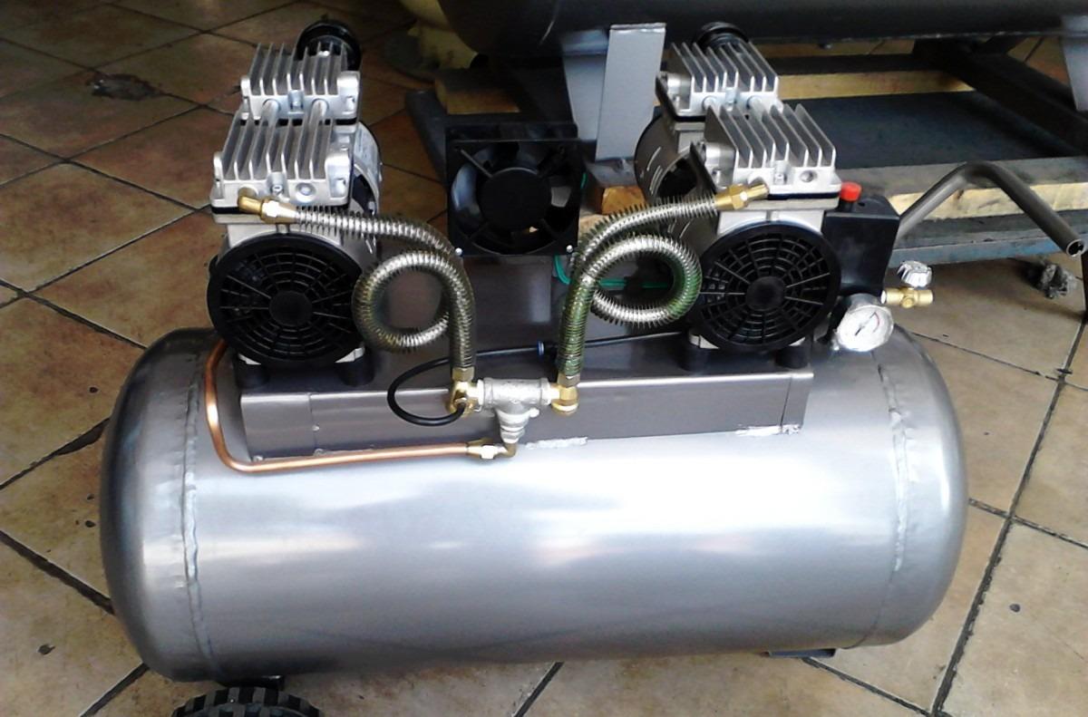 Compresor roger s silencioso 120 lts 4 pistones 110 for Compresor de aire silencioso