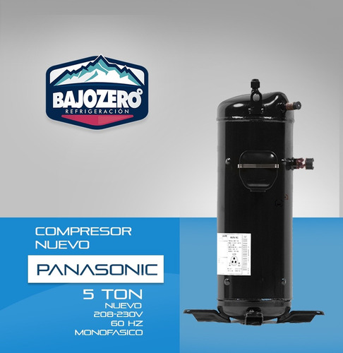 compresor scroll panasonic 5 toneladas