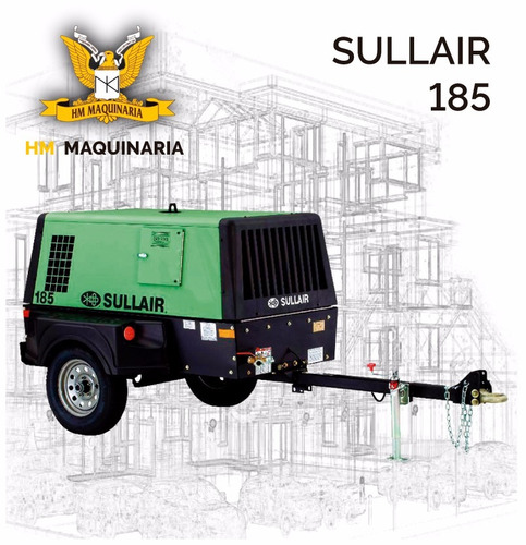 compresor sullair 185   4 cilindros,