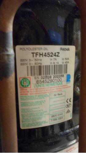 compresor trifasico  marca tecumseh 2hp r 404