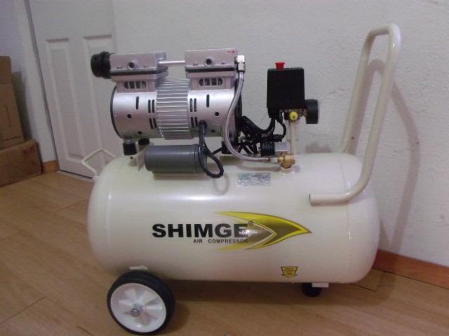 Compresor uso dental libre de aceite 1 hp 50 lt for Aceite para compresor