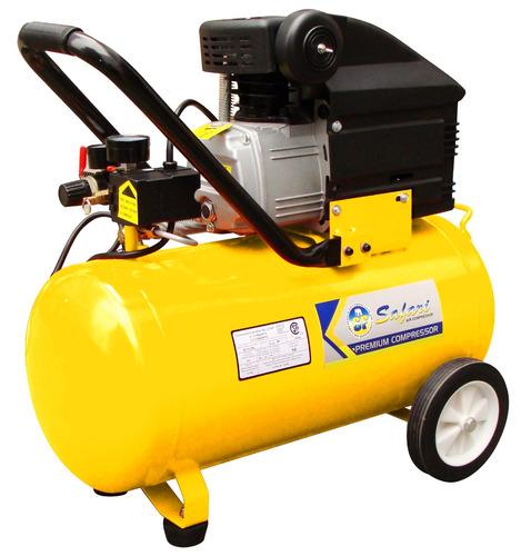 compresora de aire 220v/60hz 50lts amarilla safari sf-fl50l