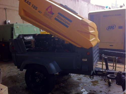 compresores atlascopco 185pcm jhondeere 2013 500horas