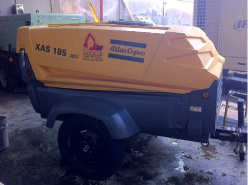 compresores atlascopco 185pcm jhondeere 2014 265horas