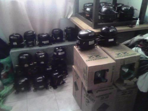compresores de nevera   de 1/3 a 1/6 importados