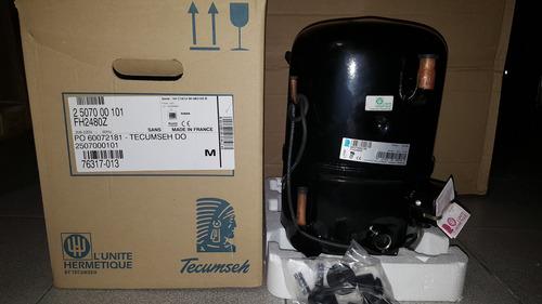 compresores tecumseh frances 2 hp r404a 220v fh2480z