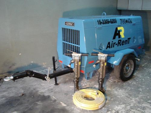 compresor/motocompresor alquiler y reparacion