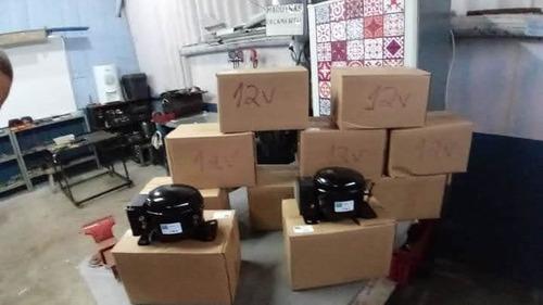 compressor 12v instalado 1100 reais sem o aparelho