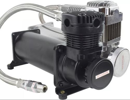 compressor 444c suspensão a ar 100% 200psi o chefão + brinde