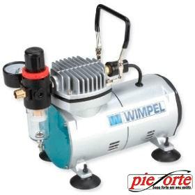 compressor + aerógrafo 0,5mm + filtro/ manômetro + mangueira