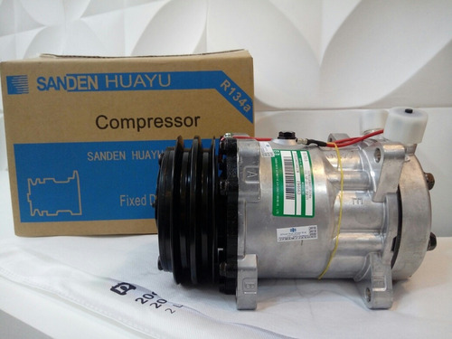 compressor ar cond 7h15 sanden 24v polia 2a vertical 4652