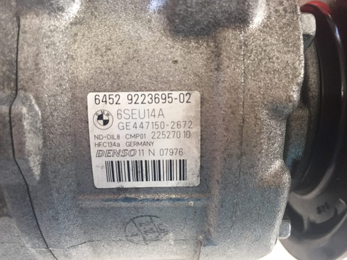 compressor ar condicionado bmw 328 turbo 2012 6452922369-02