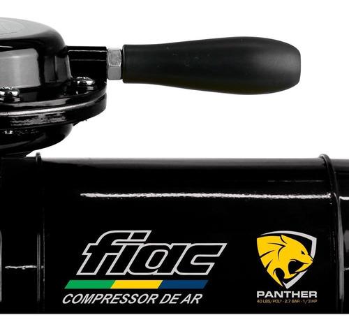 compressor ar direto fiac 2,3 pés 1/4hp bivolt com kit