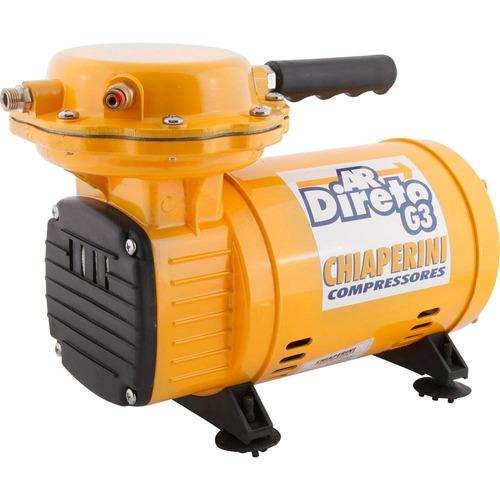 compressor ar direto tufão bivolt chiaperini g3