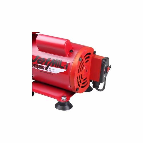 compressor ar direto tufão+kit pintura jetmil bivol-motomil