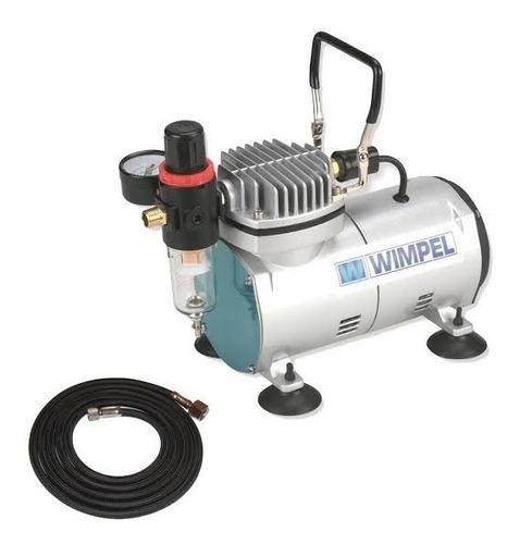 compressor bivolt com mangueira filtro regulador aerografia