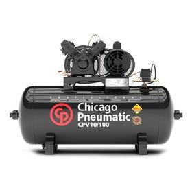 Compressor Chicago Pneumatic Cpv 10 100 Lts 140 Lbs 2cv Mono