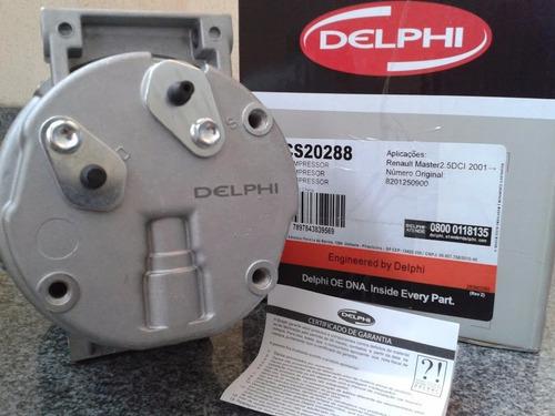compressor condicionado delphi