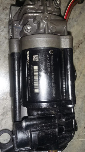 compressor da suspensão  mercedes a2123200104