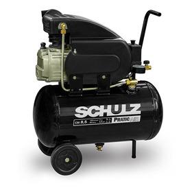 Compressor De Ar 8,5 Pés Pratic Air Csi 25 L Schulz 220v