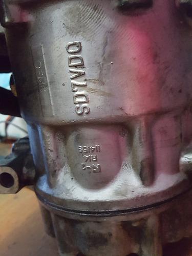 compressor de ar condicionado do renault sandero logan e dem