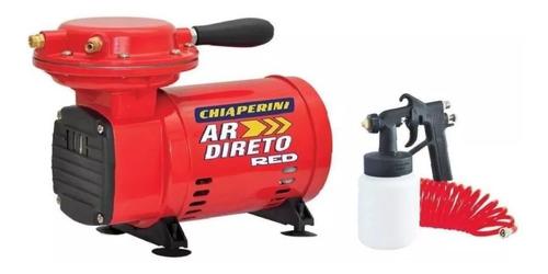 compressor de ar direto chiaperin + kit pistola/mangueira.
