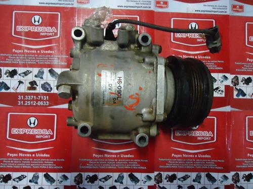compressor de ar honda cr-v 2000 / 2001 semi novo original