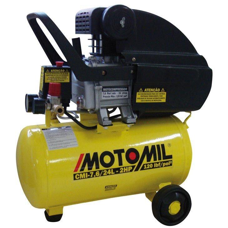 Compressor de ar motomil 2hp 24 litros cmi 7 6 24l - Compresor 6 litros ...