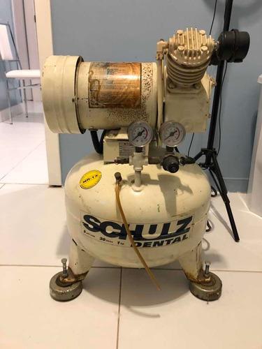compressor de ar shulz odontologico
