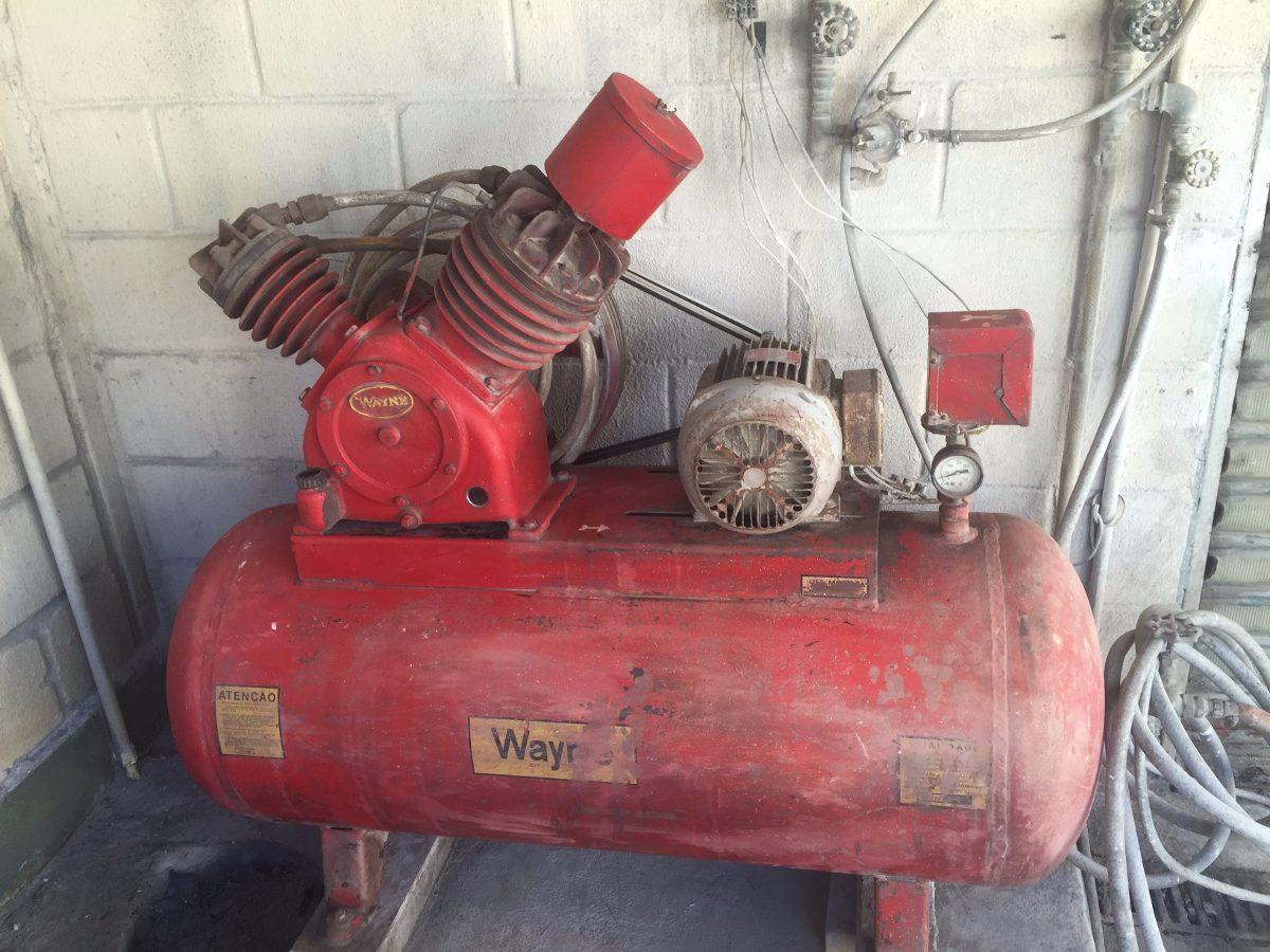 e5fc7e3988e Compressor De Ar Wayne Modelo W 20 60 Sd Usado Em Bom Estado - R ...