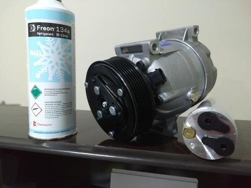 compressor do ar renault master 2002/2012 + gás e filtro