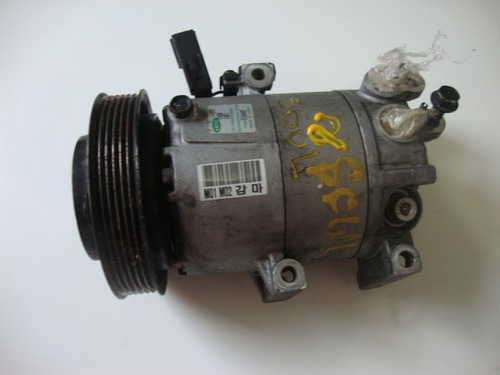 compressor do arcondicionado do kia sool-011