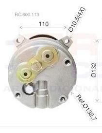 compressor gm chevrolet s10 blazer 2.2 - fixação 4 orelhas