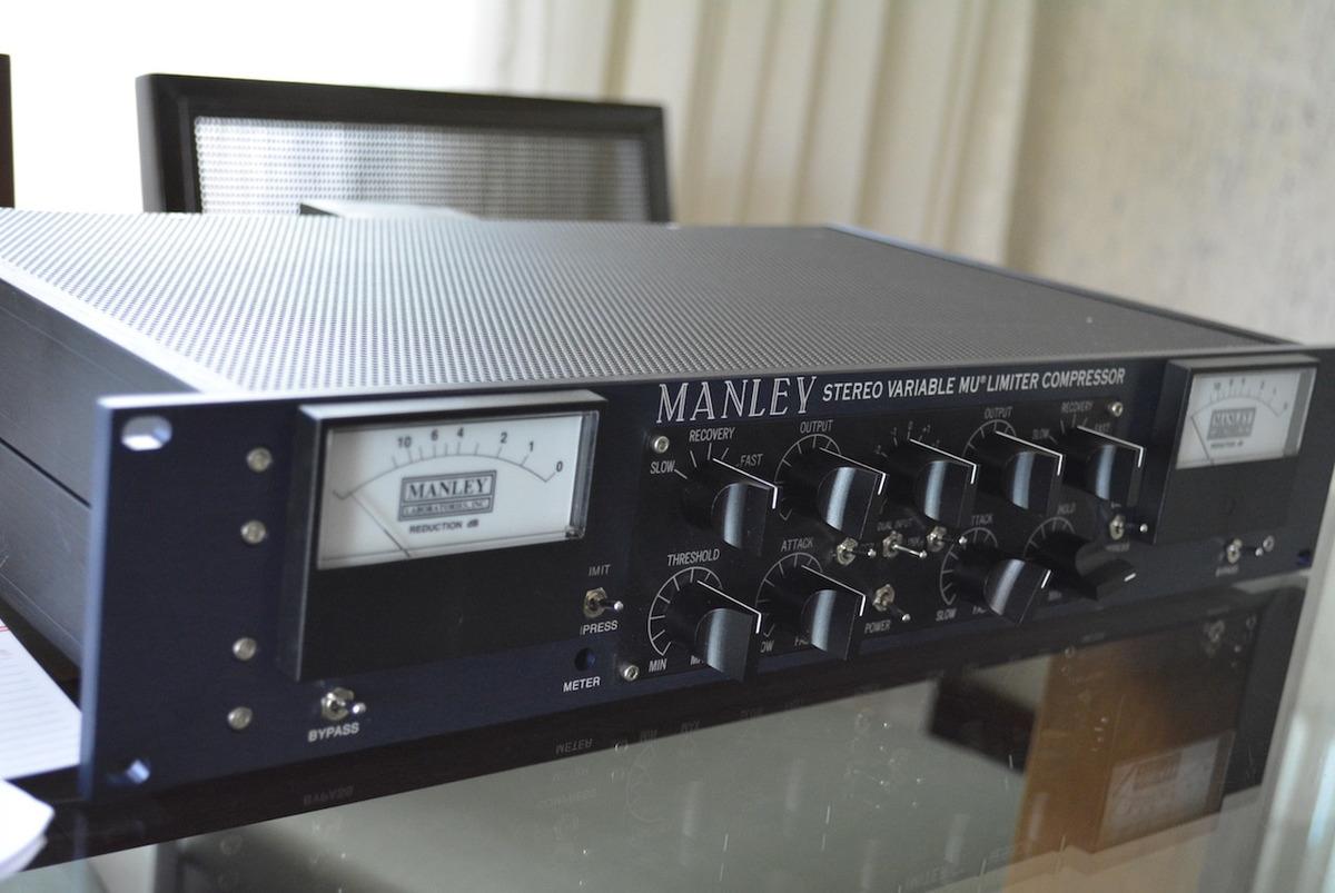 Compressor Limiter Manley Vari Mu