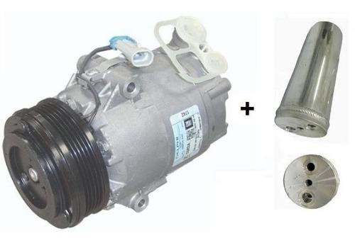 compressor meriva +filtro secador 1.4/1.8 5pk frete gratis