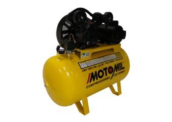compressor motomil cmv10pl 100l 140 lbrs monofasico
