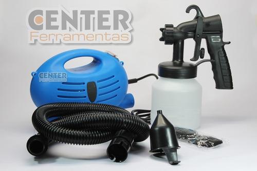 compressor para pintura tipo tufão 110/220v profissional