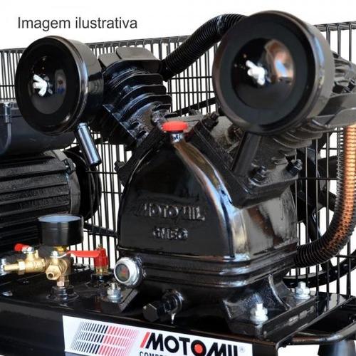 compressor poço artesiano 100m ar direto 2hp bivolt motomil