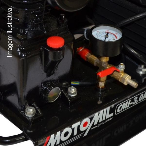 compressor poço artesiano 60m ar direto 1hp bivolt motomil