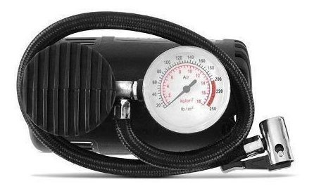 compressor portátil multilaser 12v 20,07 bicicleta 250psi